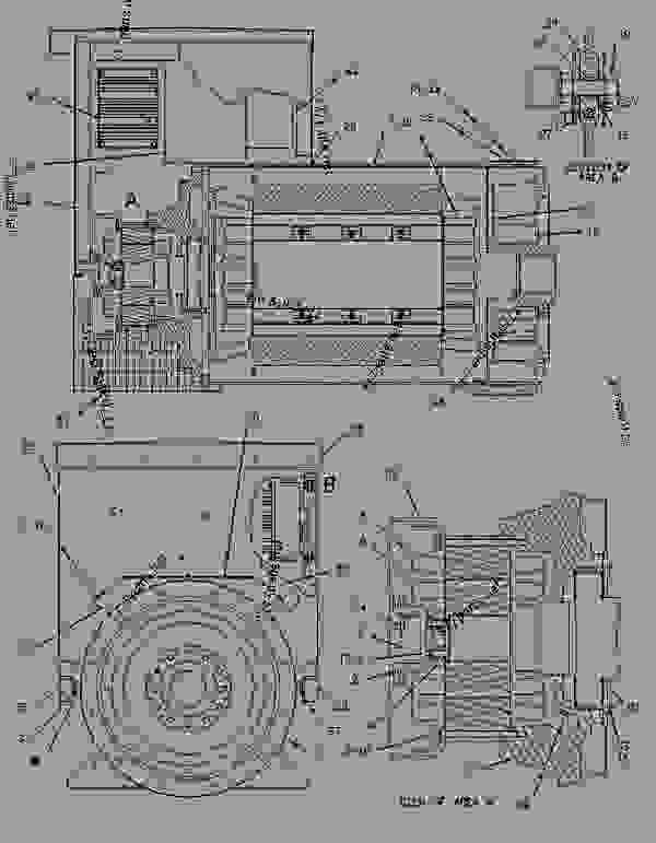 Parts scheme 9Y4812 LINES GROUP-FLEXIBLE FUEL   - ENGINE - GENERATOR SET Caterpillar 3406B - 3406B Generator Set 4RG00001-01501 FUEL SYSTEM | 777parts
