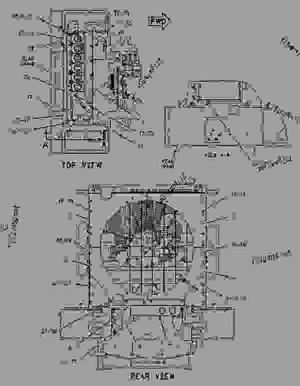 Parts scheme 1896424 RADIATOR GROUP   - EARTHMOVING COMPACTOR Caterpillar 815F - 815F Soil Compactor BKL00001-UP (MACHINE) POWERED BY 3176C Engine COOLING SYSTEM | 777parts