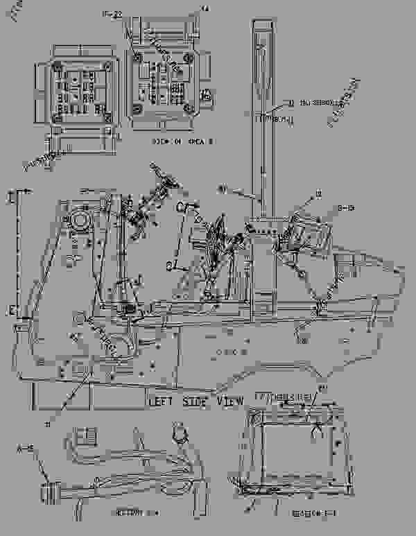 Parts scheme 1862731 WIRING GROUP-HEATER   - BACKHOE LOADER Caterpillar 430D - 430D Backhoe Loader BNK00001-02501 (MACHINE) POWERED BY 3054 Engine ELECTRICAL AND STARTING SYSTEM | 777parts