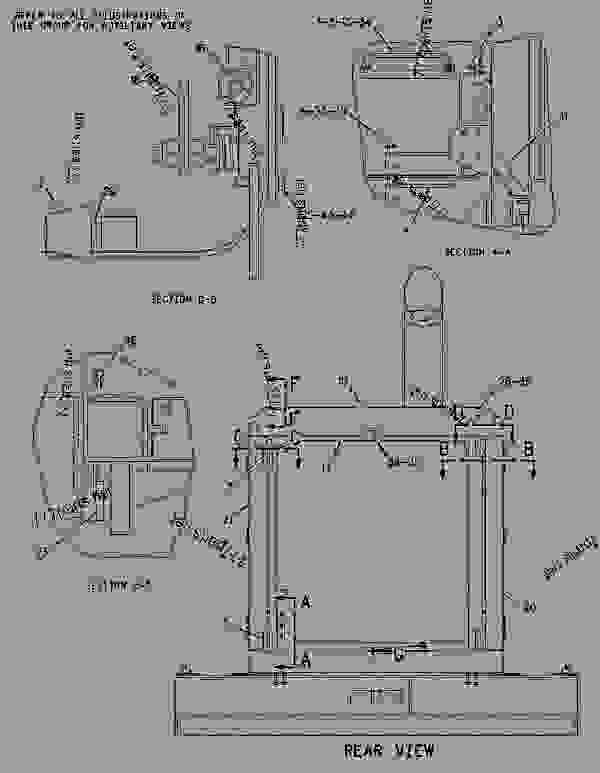 Parts scheme 1737254 GUARD GROUP-RADIATOR   - EARTHMOVING COMPACTOR Caterpillar 836G - Custom Product Support Literature for the 834G Series II Wheel Type Tractor and 836G Series II Landfill Compactor BRL00001-UP (MACHINE) FRAME AND BODY | 777parts