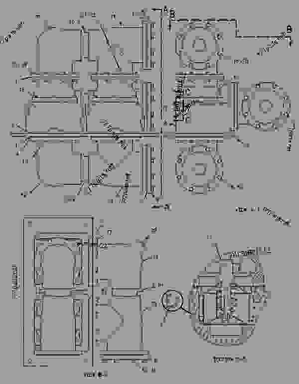 Parts scheme 2153891 REGULATOR GROUP-TEMPERATURE   - ENGINE - INDUSTRIAL Caterpillar G3612 - G3612 GENERATOR AND INDUSTRIAL January 1980 to December 1997 1YG00001-UP COOLING SYSTEM | 777parts