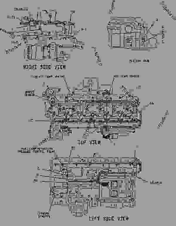 Parts scheme 1228946 WIRING GROUP-ELECTRONIC CONTROL   - ENGINE - TRUCK Caterpillar 3126 - 3126 Truck Engine 4ES00001-UP ELECTRICAL AND STARTING SYSTEM | 777parts