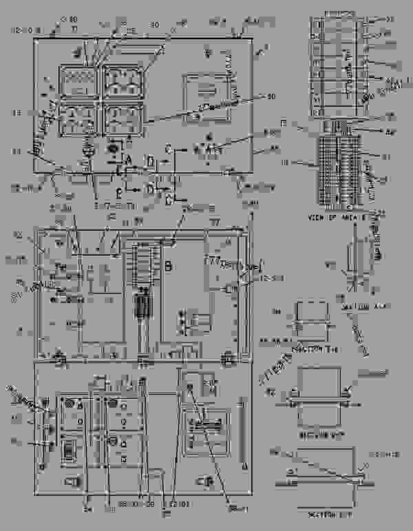 Parts scheme 1282858 WIRING GROUP-ENGINE  -LH - ENGINE - GENERATOR SET Caterpillar 3508B - 3508B Generator Set Oil Field Land Rig PTN00001-UP ELECTRICAL AND STARTING SYSTEM | 777parts