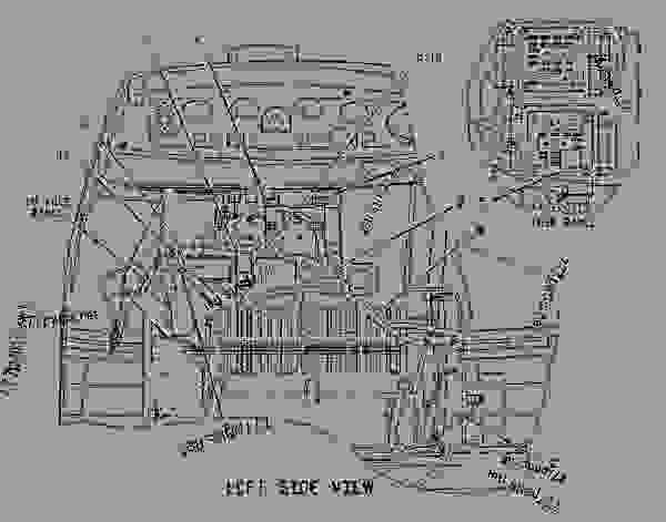 Caterpillar Backhoe Parts Diagram : Cat d wiring diagram