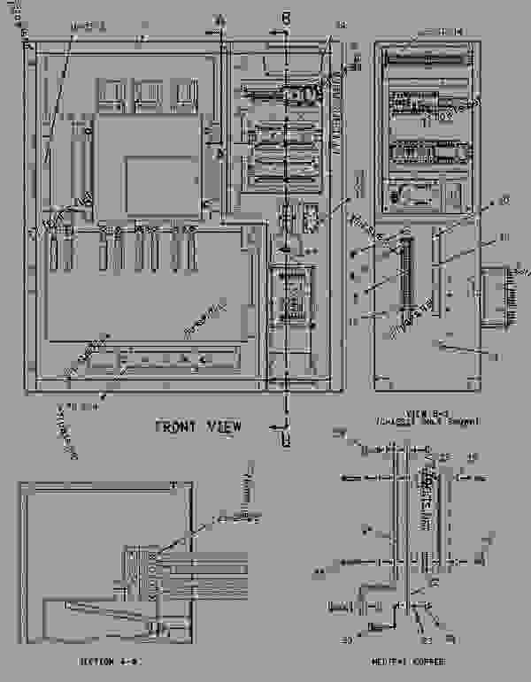 Parts scheme 1541715 PANEL GROUP-INSTRUMENT   - ENGINE - GENERATOR SET Caterpillar 3412 - 3412C Generator Set TGC00001-UP OPERATOR STATION | 777parts