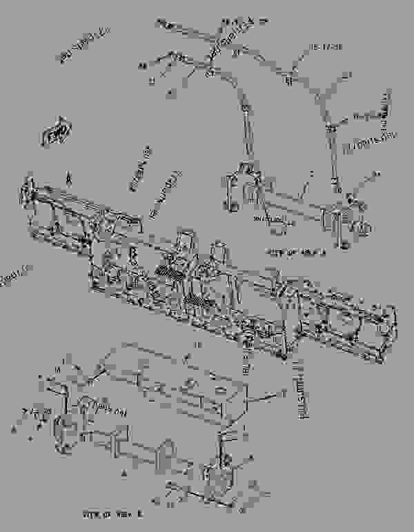 Parts scheme 1975294 VIBRATORY GROUP   - ASPHALT PAVER Caterpillar AP-1055D - AP-1055D, BG-2455D Mobil Track Asphalt Paver FAC00001-UP (MACHINE) POWERED BY C7 Engine HYDRAULIC SYSTEM | 777parts