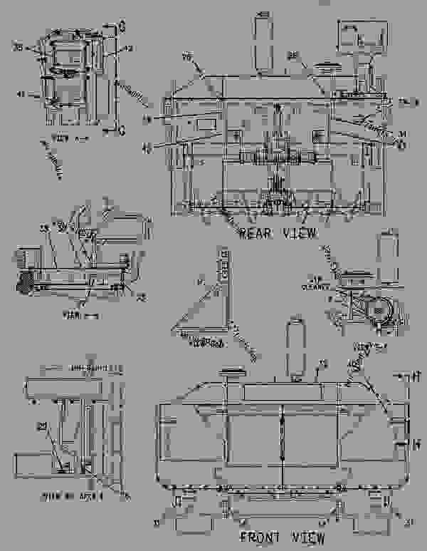 Parts scheme 1165236 PLATE & FILM GROUP   - ASPHALT PAVER Caterpillar BG-2455C - Caterpillar AP-1055B, Barber-Greene BG-2455C Asphalt Paver ACM00001-UP (MACHINE) POWERED BY 3116 Engine SERVICE EQUIPMENT AND SUPPLIES | 777parts