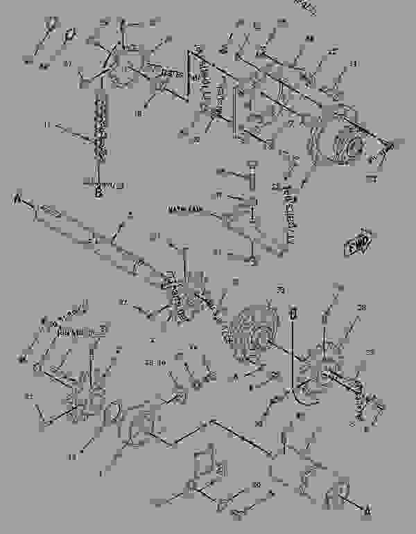 Parts scheme 5E9826 EXTENSION GROUP-AUGER  -2-FT, RH - ASPHALT PAVER Caterpillar BG-2455C - AP-1055B,BG-2455C Asphalt Paver B2G00001-UP (MACHINE) POWERED BY 3116 Engine FEEDER DRAG AND AUGER CONVEYORS | 777parts
