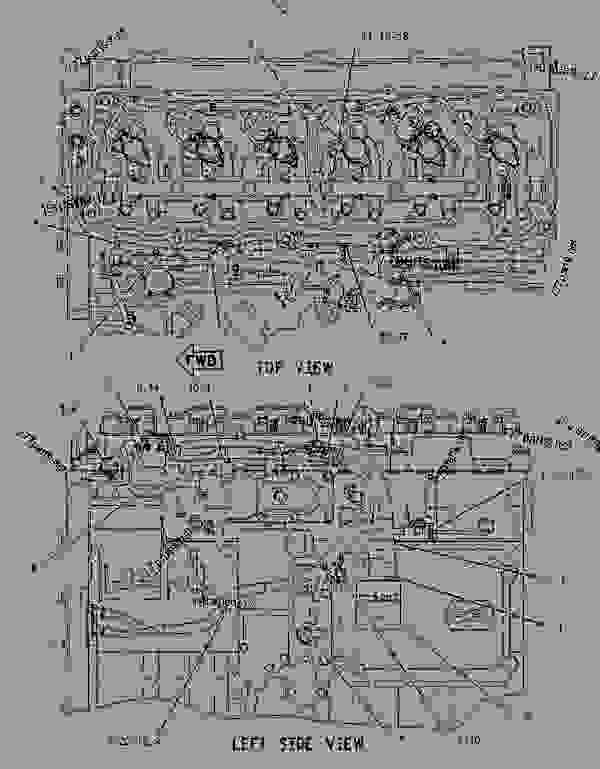 2197446 wiring group-electronic control - engine