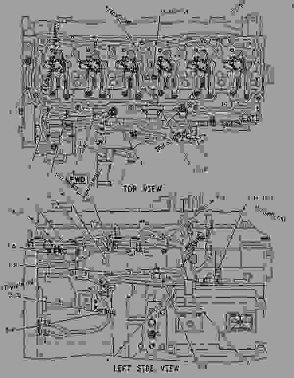 Parts scheme 1889869 WIRING GROUP-ELECTRONIC CONTROL   - CHALLENGER Caterpillar MTC735 - C-9 Caterpillar Engine for AGCO Challenger 81200001-UP (MACHINE) ELECTRICAL AND STARTING SYSTEM | 777parts