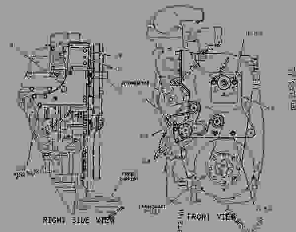 Parts scheme 1937733 MOUNTING GROUP-ALTERNATOR   - EARTHMOVING COMPACTOR Caterpillar 816F - 816F Landfill Compactor BMR00001-UP (MACHINE) POWERED BY 3176C Engine BASIC ENGINE | 777parts