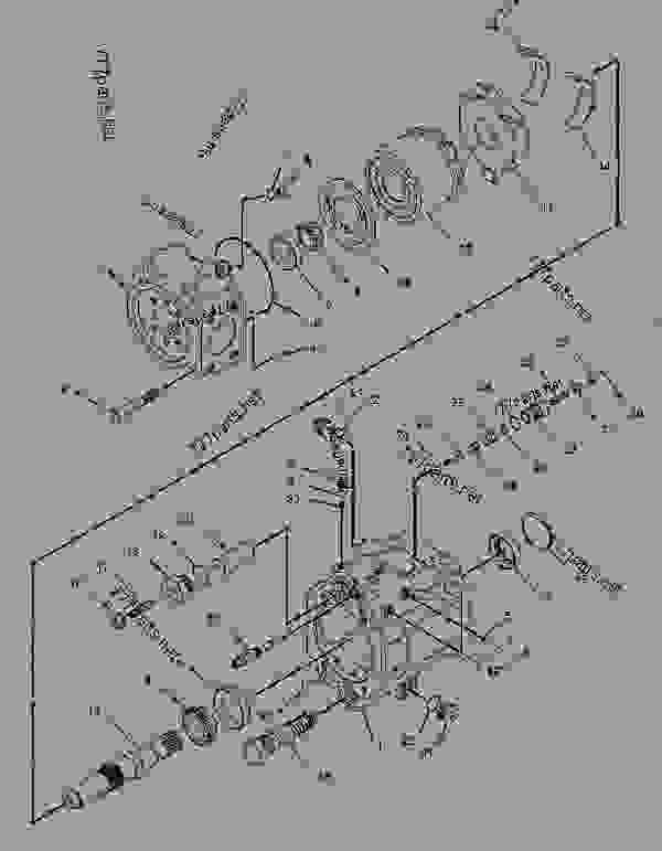 Parts scheme 1908791 PUMP GROUP-PISTON  -GENERATOR - ASPHALT PAVER Caterpillar BG-2255C - AP-655C.BG-2255C Asphalt Paver CKR00001-UP (MACHINE) POWERED BY 3056 Engine HYDRAULIC SYSTEM | 777parts