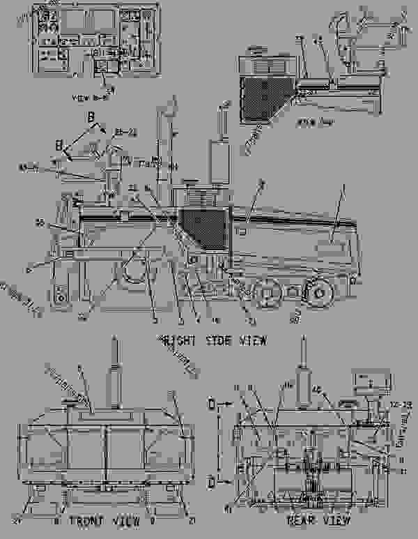Parts scheme 1232266 PLATE & FILM GROUP   - ASPHALT PAVER Caterpillar AP-1000B - AP-1000B, BG-260C Asphalt Paver 7HN00001-UP (MACHINE) POWERED BY 3116 Engine SERVICE EQUIPMENT AND SUPPLIES | 777parts