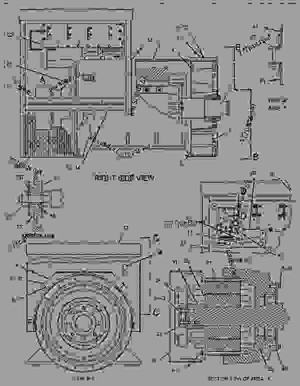 Parts scheme 1169747 GENERATOR GROUP   - ENGINE - GENERATOR SET Caterpillar 3412C - 3412C Generator Set BAX00001-UP GENERATORS | 777parts