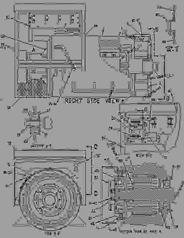 Parts scheme 5N0061 GENERATOR GROUP  - ENGINE - GENERATOR SET Caterpillar 3412C - 3412C Generator Set BAX00001-UP GENERATORS | 777parts