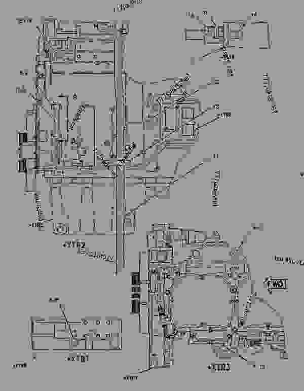 Parts scheme 1922042 COVER GROUP-ENGINE   - CHALLENGER Caterpillar MT835 - C-12, C-15, C-16 Caterpillar Engines For AGCO Challenger BAM00001-UP (MACHINE) BASIC ENGINE | 777parts