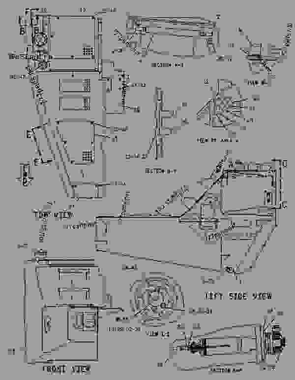 Parts scheme 2264138 TANK & MTG GROUP-FUEL  -FAST FILL - ARTICULATED DUMP TRUCK Caterpillar 735 - 735 Articulated Truck AWR00001-UP (MACHINE) POWERED BY 3406E Engine FUEL SYSTEM | 777parts