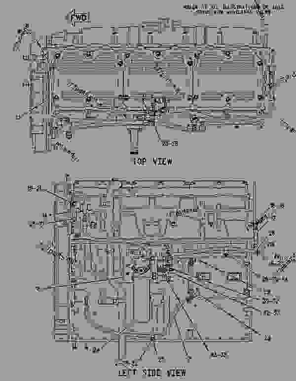 Parts scheme 1931561 LINES GROUP-FUEL   - CHALLENGER Caterpillar MTC855 - C-12, C-15, C-16 Caterpillar Engines For AGCO Challenger 81800001-UP (MACHINE) FUEL SYSTEM | 777parts