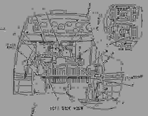 Parts scheme 1862731 WIRING GROUP-HEATER   - BACKHOE LOADER Caterpillar 446D - 446D Backhoe Loader DBL00001-UP (MACHINE) POWERED BY 3114 Engine ELECTRICAL AND STARTING SYSTEM | 777parts
