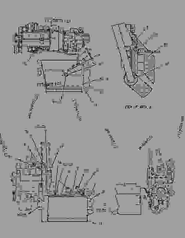 Parts scheme 1860204 SEPARATOR GROUP-WATER   - BACKHOE LOADER Caterpillar 430D - 430D Backhoe Loader BNK00001-02501 (MACHINE) POWERED BY 3054 Engine FUEL SYSTEM | 777parts