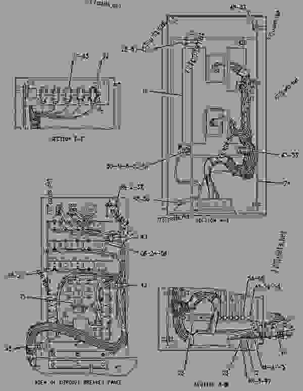 Parts scheme 1943802 BOX GROUP-CONTROL   - ASPHALT PAVER Caterpillar AP-655C - AP-655C.BG-2255C Asphalt Paver CDG00001-UP (MACHINE) POWERED BY 3056 Engine ELECTRICAL AND STARTING SYSTEM | 777parts