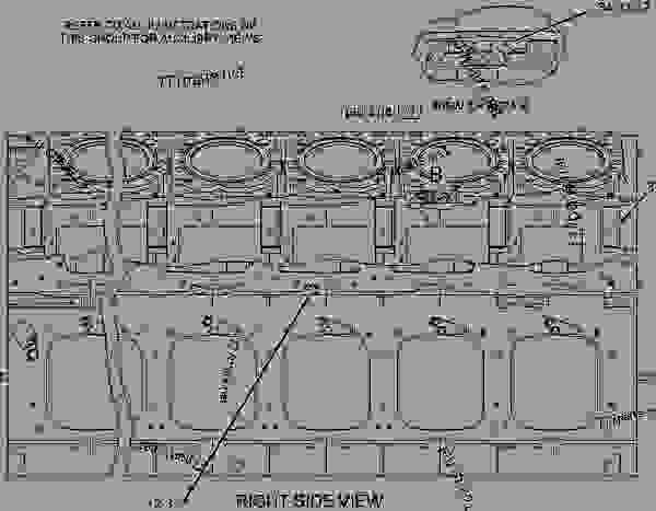 Parts scheme 2194711 CYLINDER BLOCK GROUP   - ENGINE - GENERATOR SET Caterpillar G3516C - G3516C Generator Set TJC00001-UP BASIC ENGINE | 777parts