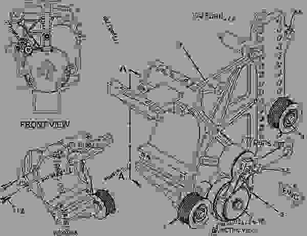 caterpillar c12 engine schematic  caterpillar  get free