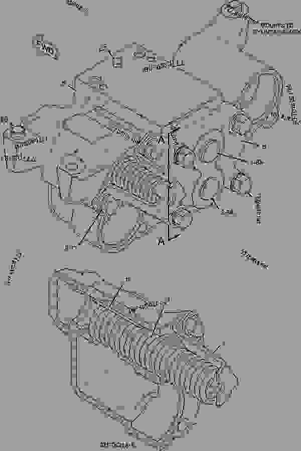 Parts scheme 2097314 LINES GROUP-TURBOCHARGER OIL   - ARTICULATED DUMP TRUCK Caterpillar D350E II - D350E Series II Articulated Truck 2XW00001-UP (MACHINE) POWERED BY 3406E Engine LUBRICATION SYSTEM | 777parts
