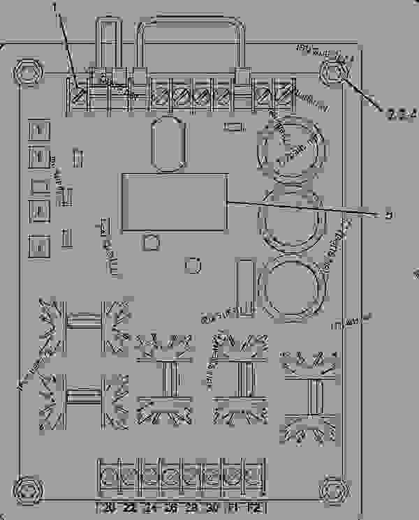 Parts scheme 3091019 REGULATOR AS-VOLTAGE  -DIGITAL - ENGINE - GENERATOR SET Caterpillar 3304B - 3304B(XQ125) Rental Generator Set DED00001-UP GENERATORS | 777parts