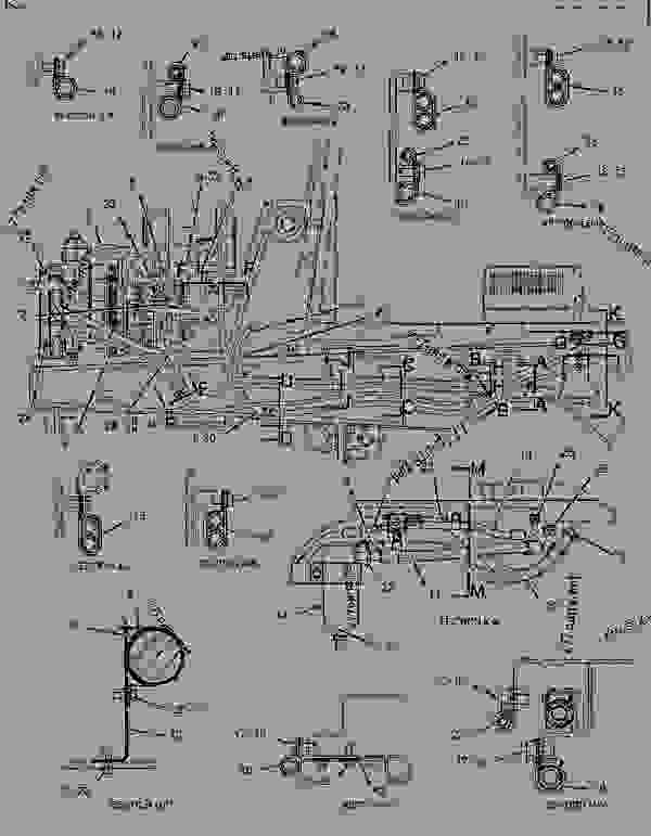 Parts scheme 1833887 LEVER GROUP-GOVERNOR   - BACKHOE LOADER Caterpillar 430D - 430D Backhoe Loader BML00001-02280 (MACHINE) POWERED BY 3054 Engine OPERATOR STATION | 777parts