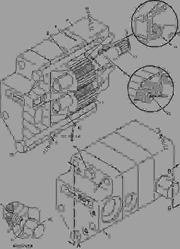 Parts scheme 1698615 PUMP GROUP-FUEL TRANSFER   - ENGINE - GENERATOR SET Caterpillar 3508B - 3508B Generator Set CNB00001-UP FUEL SYSTEM | 777parts