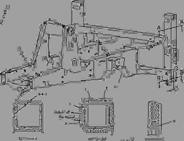 Parts scheme 1850079 FLOORPLATE GROUP   - BACKHOE LOADER Caterpillar 432D - 432D Backhoe Loader TDR00001-UP (MACHINE) POWERED BY 3054C Engine FRAME AND BODY | 777parts