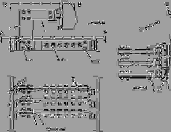 Parts scheme 2239668 CONNECTION GROUP-TERMINAL STRIP   - ENGINE - GENERATOR SET Caterpillar 3406E - 3406E Generator Set 8AZ00001-UP GENERATORS | 777parts