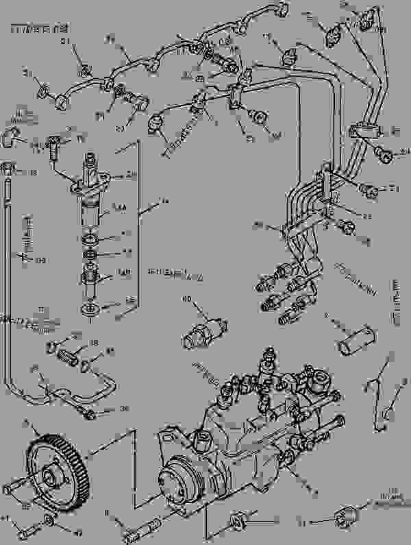 Parts scheme 1475464 PUMP GROUP-FUEL INJECTION   - ENGINE - GENERATOR SET Caterpillar 3056 - 3056 Generator Set Engine 3GW00001-UP FUEL SYSTEM | 777parts