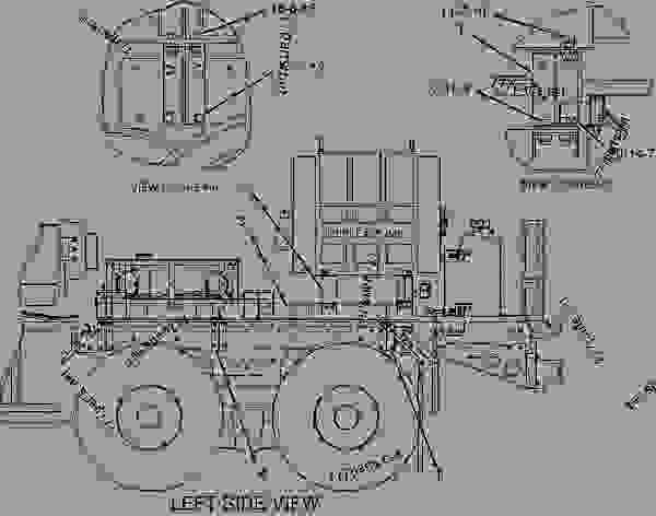 Parts scheme 1955711 MOUNTING GROUP-INSTRUMENT   - ENGINE - INDUSTRIAL Caterpillar SPS343 - SPS343 Skid Mounted Pumper 8ZZ00001-UP OPERATOR STATION | 777parts