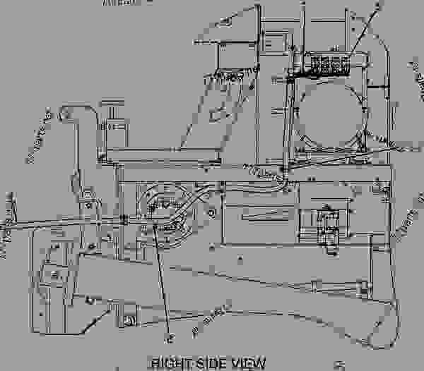 Parts scheme 1979828 WIRING GROUP-SCREED   - ASPHALT PAVER Caterpillar AP-1055B - AP-1055B,BG-2455C Asphalt Paver A3P00001-UP (MACHINE) POWERED BY 3116 Engine ELECTRICAL AND STARTING SYSTEM | 777parts
