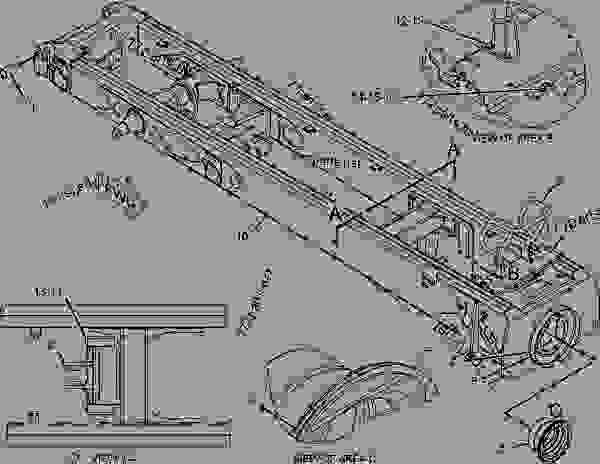 Parts scheme 2908549 COVER GROUP-ACCESS   - ARTICULATED DUMP TRUCK Caterpillar 740 - 740 Articulated Truck B1P00001-UP (MACHINE) POWERED BY C15 Engine FRAME AND BODY | 777parts