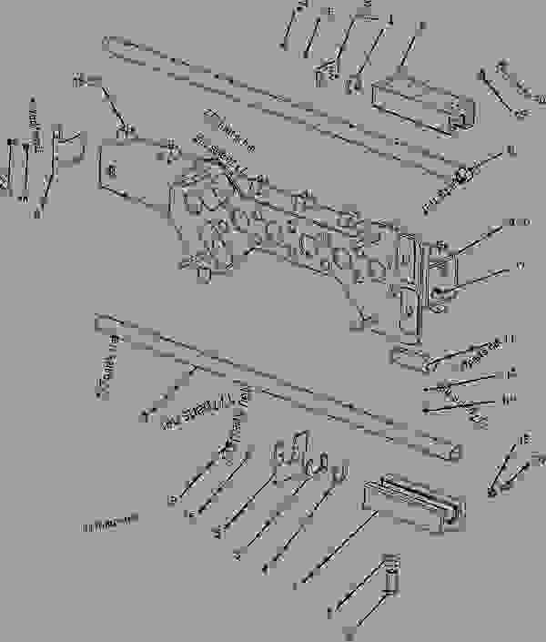 Parts scheme 2395628 CARRIAGE GROUP-EXTENDER   - ASPHALT PAVER Caterpillar AS2301 - AS2301 Screed AKC00001-UP FRAME AND BODY | 777parts