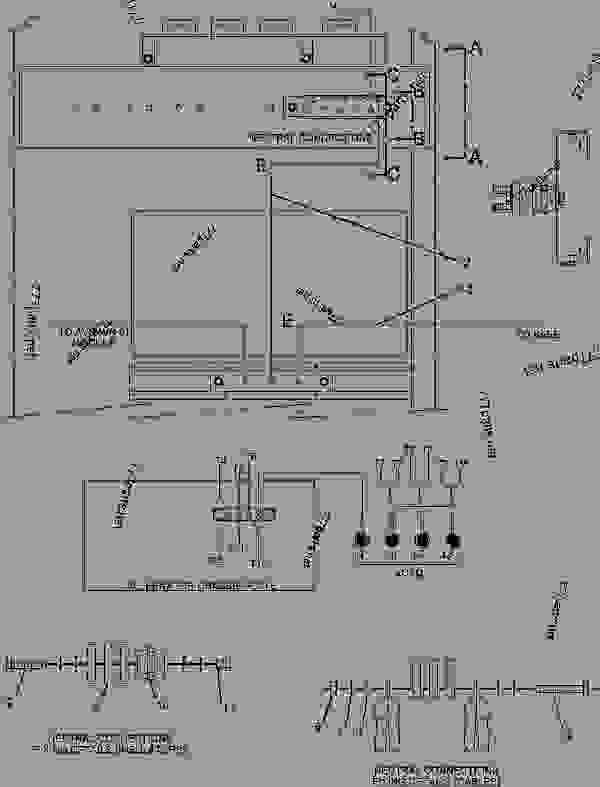 Parts scheme 2042515 WIRING GROUP-GENERATOR   - ENGINE - GENERATOR SET Caterpillar 3412 - 3412C Generator Set TGC00001-UP ELECTRICAL AND STARTING SYSTEM | 777parts