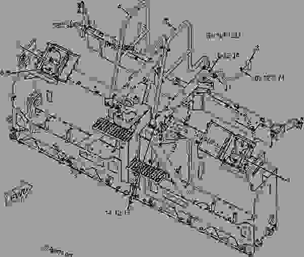 Parts scheme 2444975 WIRING GROUP-SCREED  -ELECTRIC HEAT - ASPHALT PAVER Caterpillar AP-655C - AP-655C.BG-2255C Asphalt Paver CDG00001-UP (MACHINE) POWERED BY 3056 Engine ELECTRICAL AND STARTING SYSTEM | 777parts