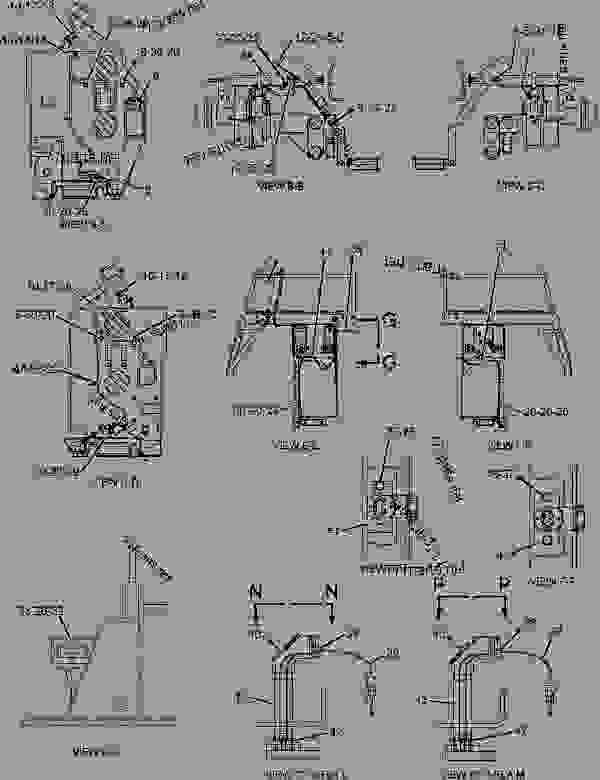 Parts scheme 2510019 WIRING GROUP-HEATER  -ELECTRIC - ASPHALT PAVER Caterpillar 8-16B - 8-16B SCREED BWL00001-UP ELECTRICAL AND STARTING SYSTEM | 777parts