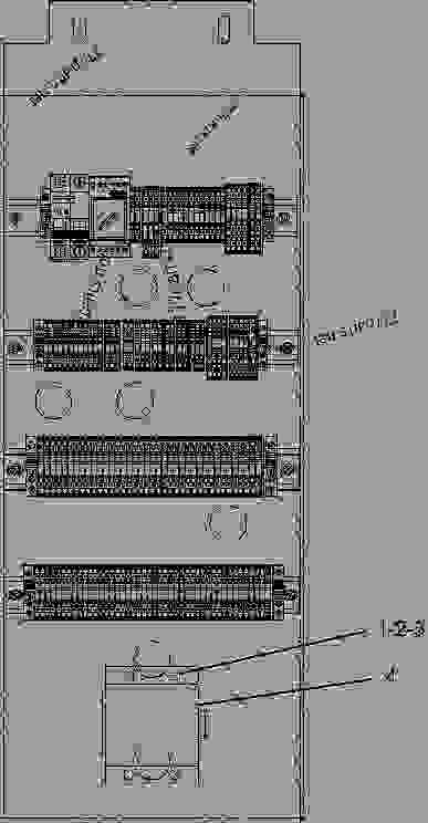 Parts scheme 2484023 CONNECTION GROUP-ELECTRICAL  -TERMINAL BLOCK, RTD - ENGINE - GENERATOR SET Caterpillar 3508B - 3508B Generator Set CNB00001-UP ELECTRICAL AND STARTING SYSTEM | 777parts