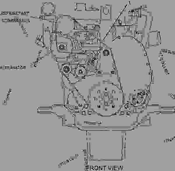 caterpillar c13 engine diagram