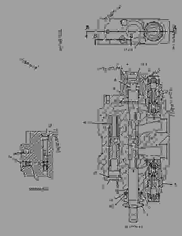 Parts scheme 2429739 VALVE GROUP-CONTROL  -SWING - BACKHOE LOADER Caterpillar 446D - 446D Backhoe Loader DBL00001-UP (MACHINE) POWERED BY 3114 Engine HYDRAULIC SYSTEM | 777parts