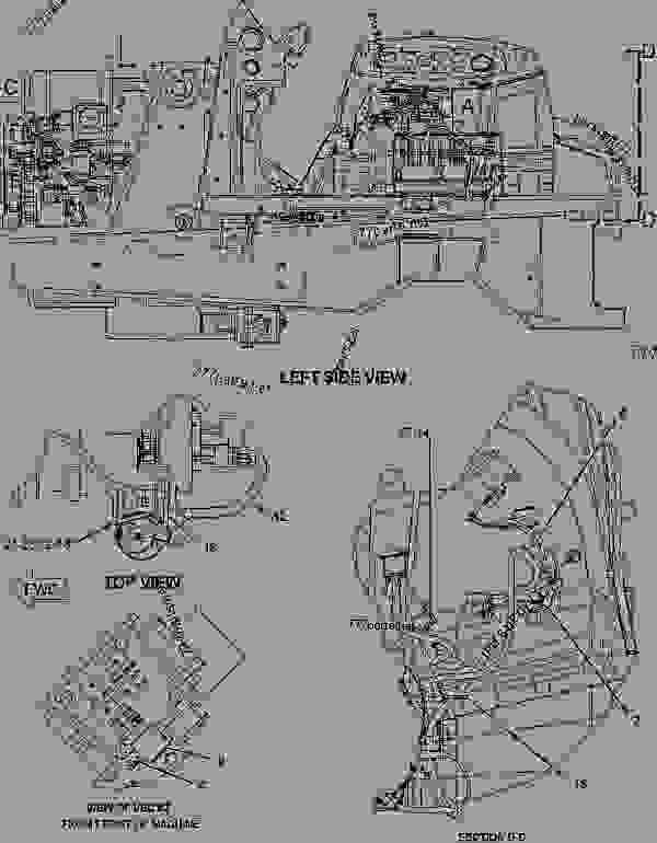 Parts scheme 2491311 WIRING GROUP-AIR CONDITIONER   - BACKHOE LOADER Caterpillar 420D - 420D Backhoe Loader MBH00001-UP (MACHINE) POWERED BY 3054C Engine ELECTRICAL AND STARTING SYSTEM | 777parts