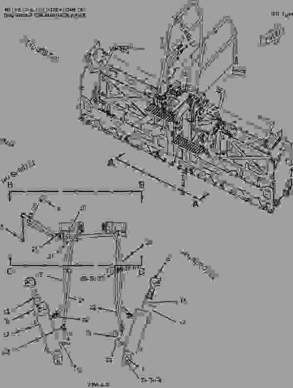 Parts scheme 1975289 LINES GROUP-EXTENDER   - ASPHALT PAVER Caterpillar AS2301 - AS2301 Screed AWC00001-UP HYDRAULIC SYSTEM | 777parts