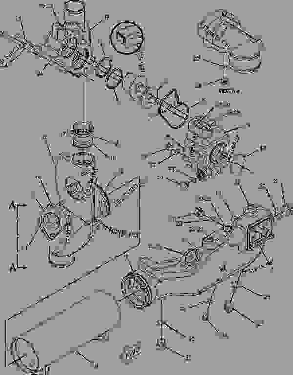 2240754 fastener group oil cooler engine engine industrial Cat Engine Fuel Diagram 2005 Cat C15 Oil Cooler Diagram cat c15 acert engine wiring diagram