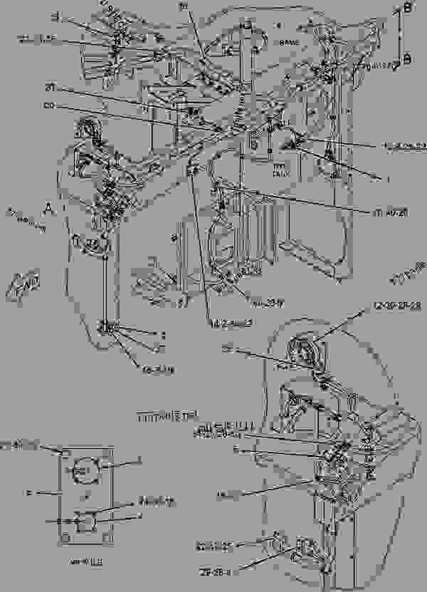 Parts scheme 1925081 WIRING GROUP-MACHINE  -LH - ASPHALT PAVER Caterpillar BG-2255C - AP-655C.BG-2255C Asphalt Paver CKR00001-UP (MACHINE) POWERED BY 3056 Engine ELECTRICAL AND STARTING SYSTEM | 777parts