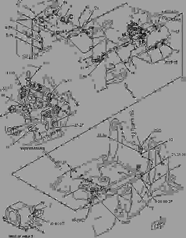 1942719 Wiring Group Chassis Forest Products Caterpillar