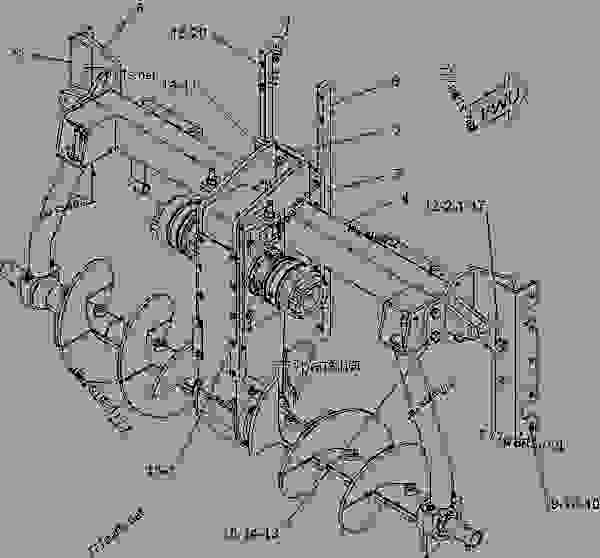 Parts scheme 2299476 PUMP GROUP-HAND  -MANUAL BRAKE RELEASE - ASPHALT PAVER Caterpillar AP-655C - AP-655C Asphalt Paver AYP00001-UP (MACHINE) POWERED BY 3056 Engine BRAKING SYSTEM | 777parts